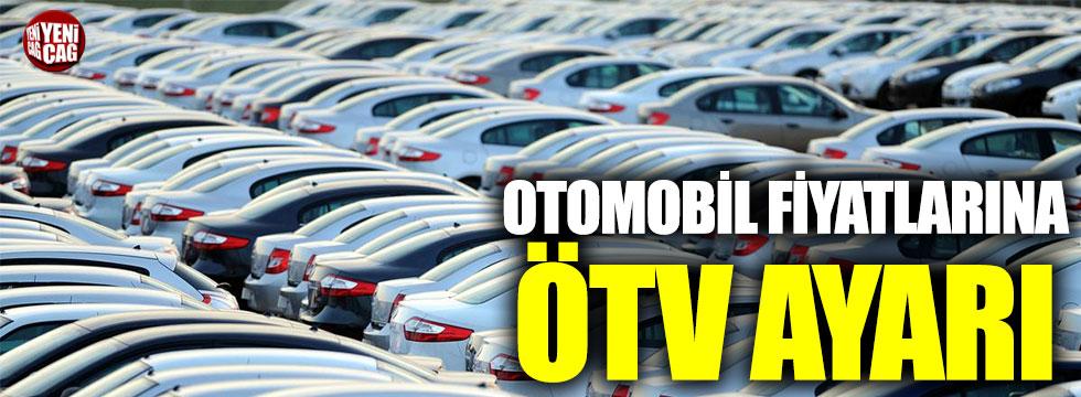Otomobil fiyatlarına ÖTV ayarı