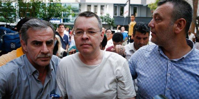 """ABD Dışişleri:""""Rahip Brunson bu ay serbest bırakılabilir"""""""