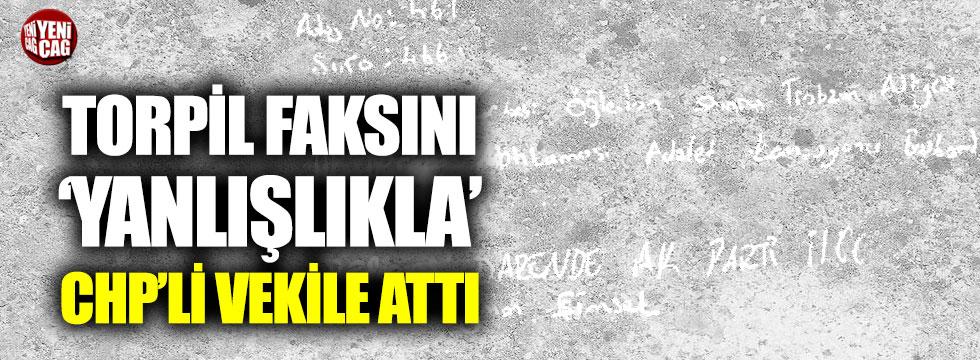 AKP'li ilçe başkanı torpil faksını yanlışlıkla CHP'li vekile attı