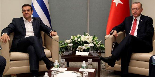 Erdoğan, Çipras'la görüştü
