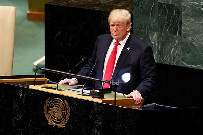 Trump'ın sözleri salonu kahkahalara boğdu