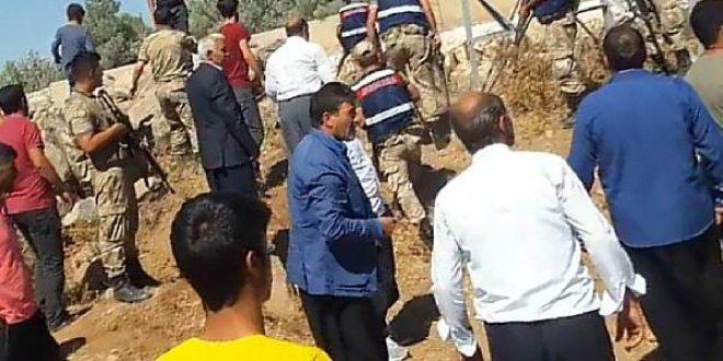 Kaçak elektrik kullananlar görevlilere saldırdı