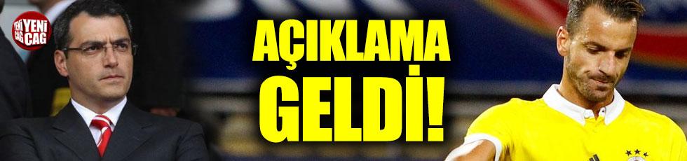 Fenerbahçe'den Soldado açıklaması