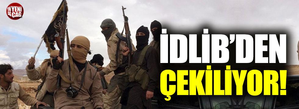 O örgüt İdlib'den çekiliyor