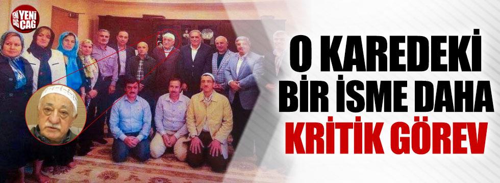 Gülen'le fotoğraf çektiren isme kritik görev