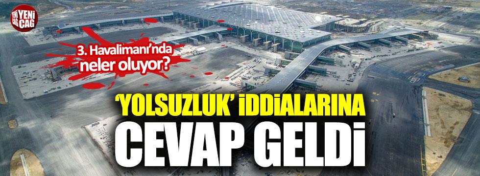 İGA'dan Erdoğdu'nun iddialarına cevap