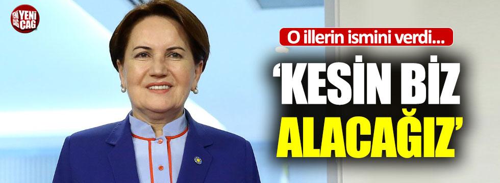 Meral Akşener'den yerel seçim çıkışı