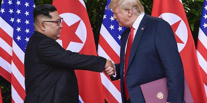 Trump: Kim ile birbirimize açık olduk