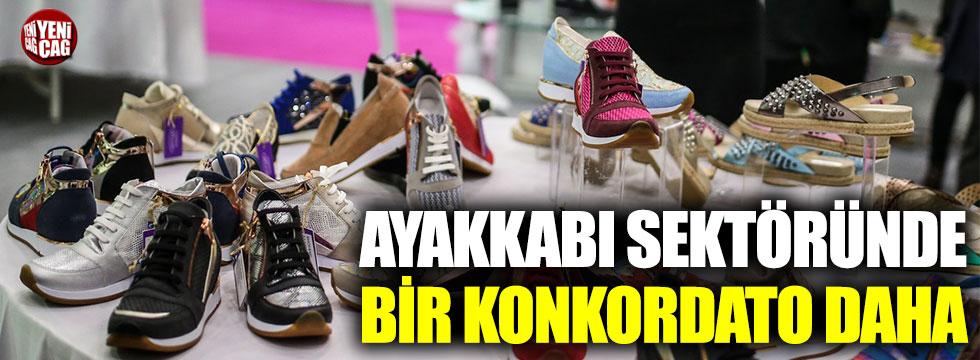 Ayakkabı sektöründe bir konkordato daha