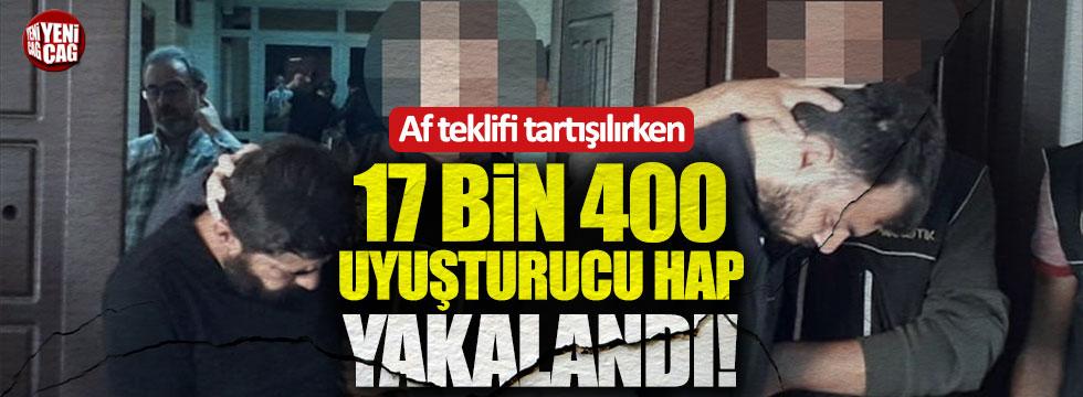 Ankara'da 17 bin 400 uyuşturucu hap yakalandı
