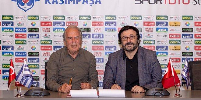 Mustafa Denizli Kasımpaşa ile anlaştı