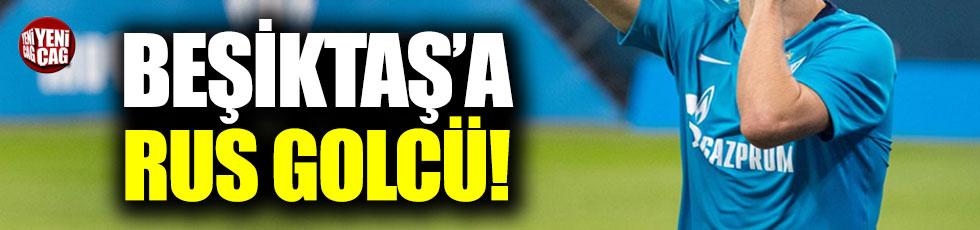 Beşiktaş'a Rus golcü