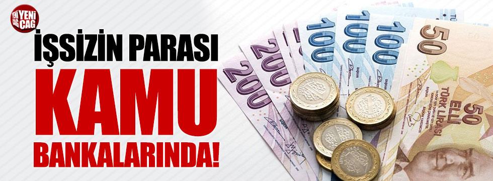 İşsizin parası kamu bankalarında!