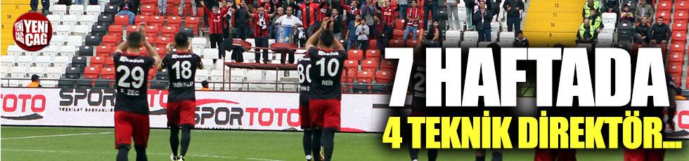 TFF 1. Lig'de 7 haftada 4 teknik direktör değişti