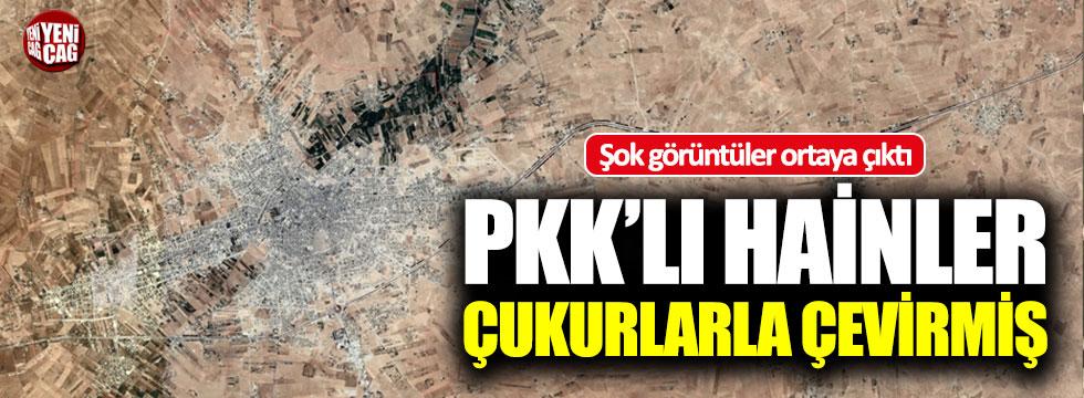 PKK Münbiç'i çukurlarla çevirmiş!