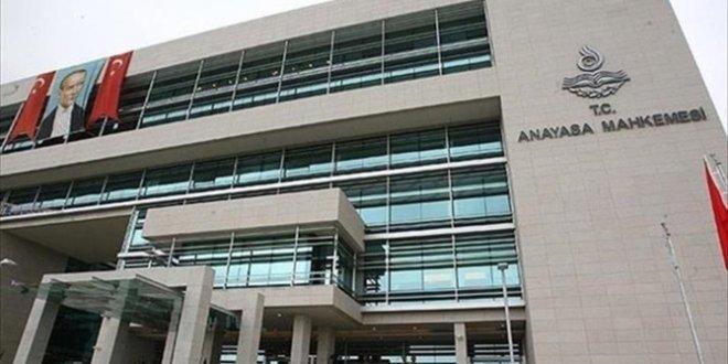 AYM, CHP'nin başvurusunu reddetti