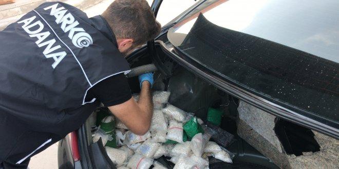 Otomobil bagajından 155 bin uyuşturucu hap çıktı!