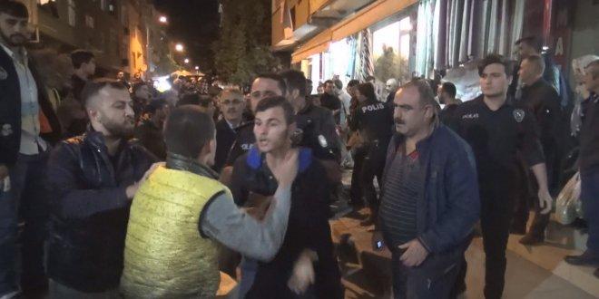 Sultangazi'de taciz iddiası: Polis Suriyeliyi linçten kurtardı