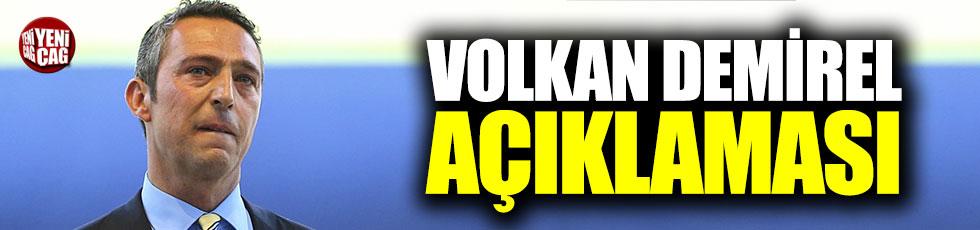 Ali Koç'tan, Volkan Demirel açıklaması