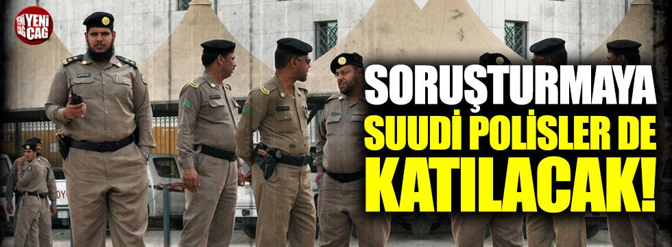 Cemal Kaşıkçı soruşturmasına Suudi polisler de katılacak!
