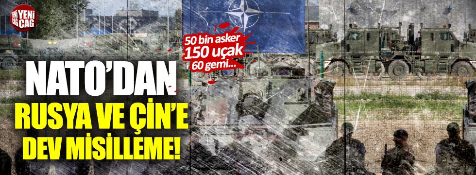 NATO'dan Rusya ve Çin'e tatbikat misillemesi