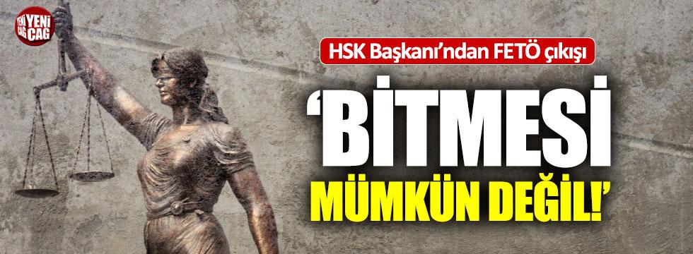 """HSK Başkanvekili'nden FETÖ çıkışı: """"Bitti diyemem"""""""