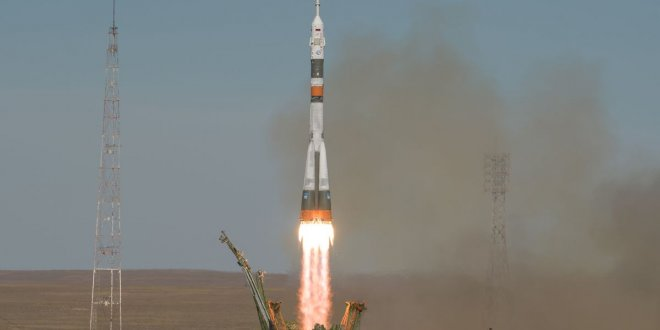 Soyuz roketi acil iniş yaptı