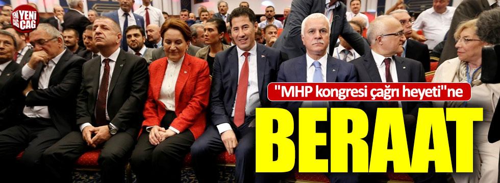 MHP kongresi çağrı heyetine beraat