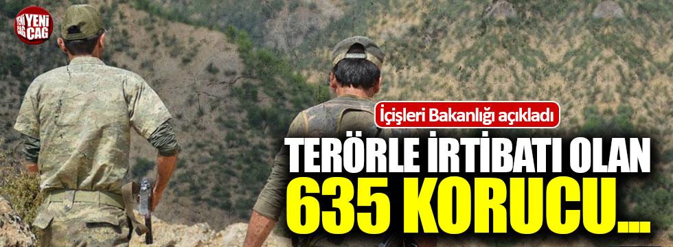 Terörle irtibatı olan 635 korucu uzaklaştırıldı