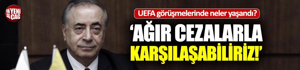 UEFA görüşmesi sonrası Mustafa Cengiz'den açıklama