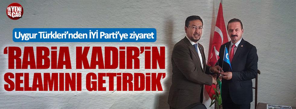 Uygur Türkleri'nden İYİ Parti'ye ziyaret