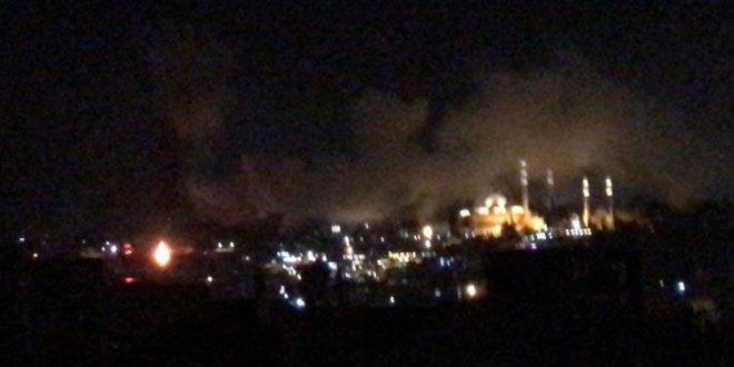 Eminönü'de yangın
