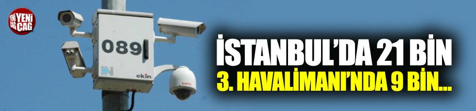 3. Havalimanı'na 9 bin güvenlik kamerası