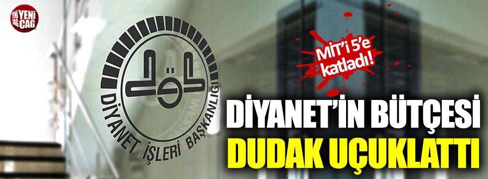 Diyanet'in bütçesi MİT'i geçti