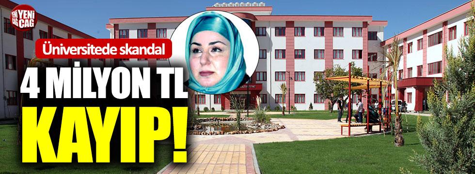 Üniversitede skandal: 4 milyon TL kayıp!
