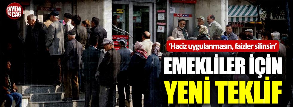 CHP'den kredi borcu olan emekliler için kanun teklifi