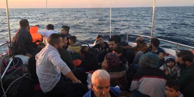 Bir haftada 574 kaçak göçmen yakalandı