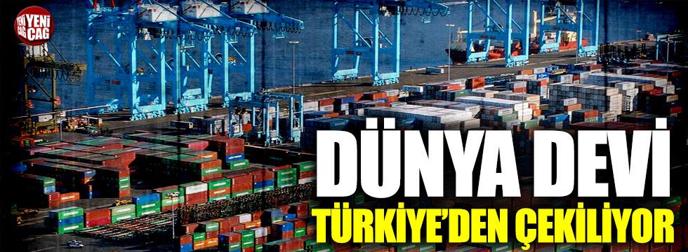 APM Terminals, Türkiye'den çekiliyor