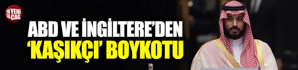 ABD ve İngiltere'den 'Kaşıkçı' boykotu