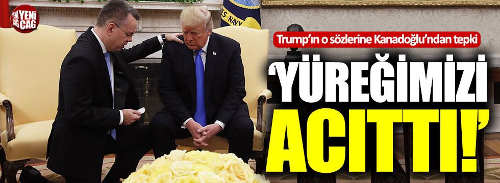 Trump'ın o sözlerine Kanadoğlu'ndan tepki!