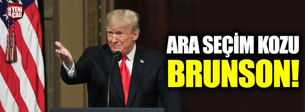 Trump'ın ara seçimdeki kozu Brunson