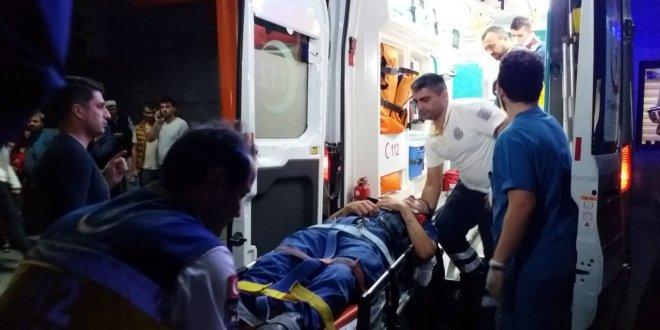 Kazaya giden askerler kaza yaptı