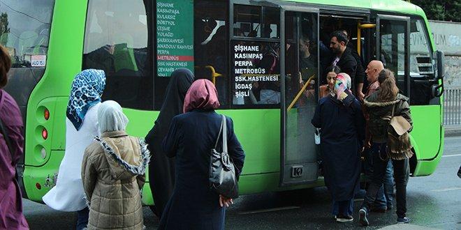 Minibüs şoförlerine ceza yağdı
