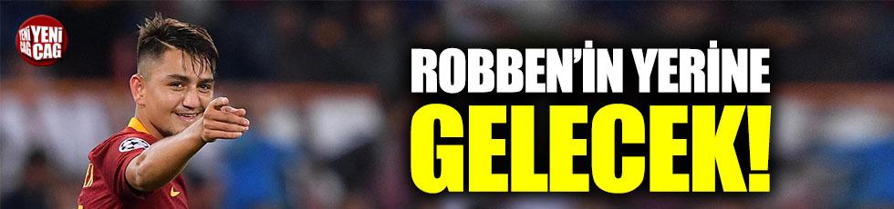 Robben'in yerine Cengiz!