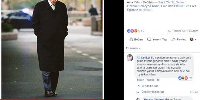 2,5 milyonluk erdoğan sayfasında çarpıcı yorumlar!