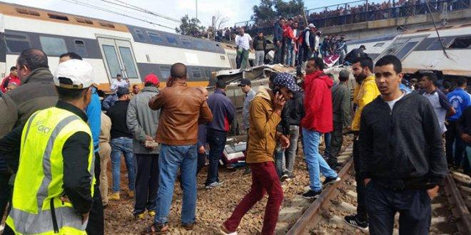 Fas'ta tren kazası