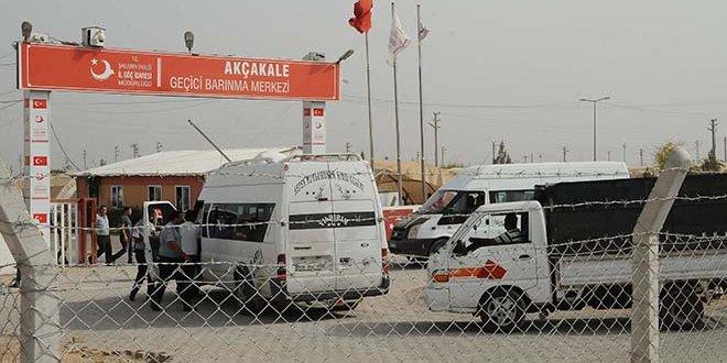 Akçakale'deki kamptan ayrılan Suriyeliler, başka illere dağılıyor