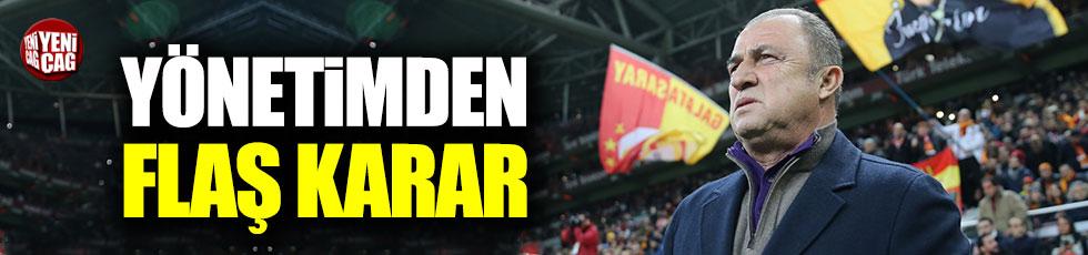 Galatasaray Fatih Terim'in sözleşmesini uzattı