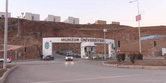 Munzur Üniversitesi'nin 33 bölümünde hiç öğrenci yok