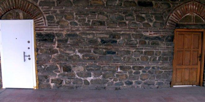 510 yıllık tarihi sura çelik kapı!